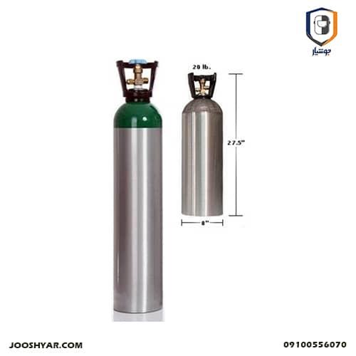 کپسول 20 لیتری آلومینیومی